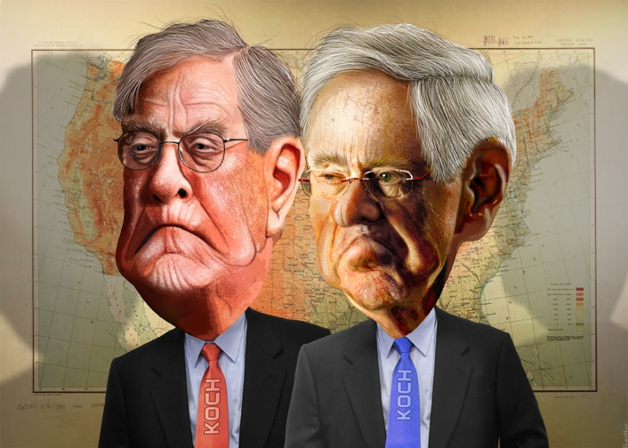 Koch brothers corrupting educational intgegrity