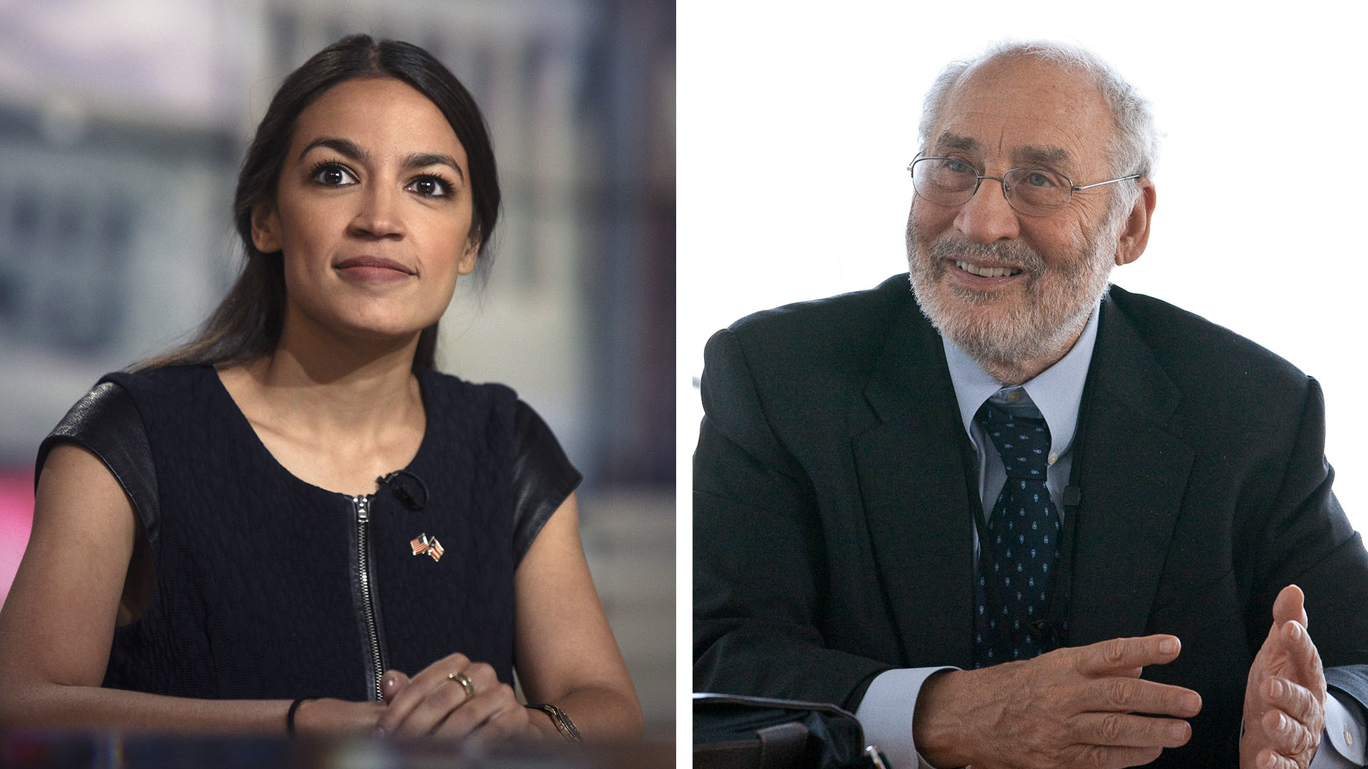 A Nobel Prize-winning economist and the second-most-famous democratic socialist in America sit down together